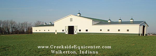 Creekside Equicenter Horse Boarding Equine Training Walkerton Indiana