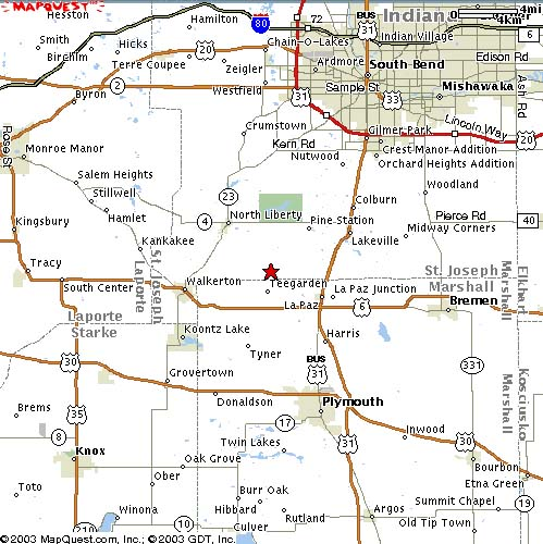 mapquest_map2creekside